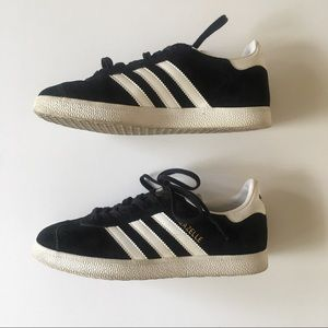 Adidas Gazelle, Black, size 6, good condition